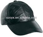 leather baseball caps short brim black leather snapback caps strap backs