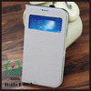 china manufacturer for samsung galaxy s4 i9500 PU leather case