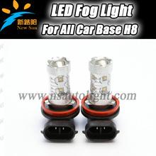 C ree 50W High Power H11 H9 H8 High Power 10x c ree 800Lm high bright Led Fog Light Bulbs Super White Car Led H8 fog light lamp