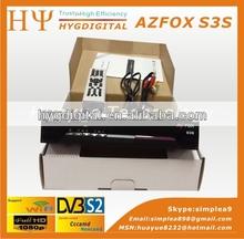 Manufacture Original Free To Air Azfox S3s Internet Satellite Receiver