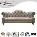 Design italiano di grandi dimensioni u- a forma di genuino angolo divano in pelle