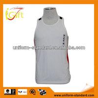 2015 summer White men cotton casual vest for men (V050)