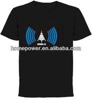 New flashing el equalizer t-shirt