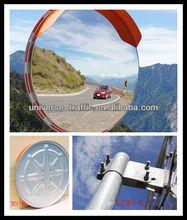 orange high quality safety convex mirrors shanghai
