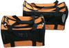 Foldable orange dog bag
