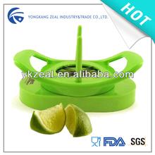 Zelo CC005C plástico de alta qualidade de limão citrus lemon cortador
