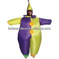 fiesta de disfraces de fantasía inflable traje de payaso