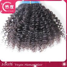 Wonderful 100% malaysian virgin afro kinky curly weaving hair double weft 3.5OZ in stock