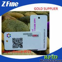 Customized matte finish plastic cards / matt finish business cards ZF