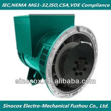 High quality 200KVA low rpm generator alternator honda generator prices made in China