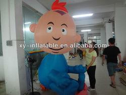inflatable boy