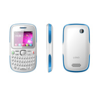factory cheap dual sim card has english spanish portuguese gsm full qwerty cell phone