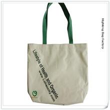 alibaba china supplier 100% natural customized shape size and printed plain handmade cotton print ladies shoulder bag