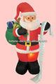 180 cmH / 6ft decoração do natal inflável papai brinquedo inflável