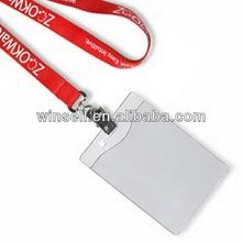 Super quality promotional badge lanyard string