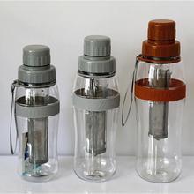 100981 Hot sales manufacture of tritan army water bottle filter water bottle tea strainer plastic bottle for water dispenser