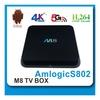 OEM/ODM manufacturer amlogic s802 quad core android iptv set top box
