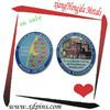 2014 epoxy souvenir coin stainless steel