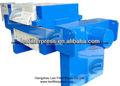 leo la prensa de filtro de reciclaje de aceite del filtro de prensa de la máquina