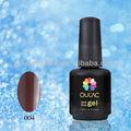 Oulac un paso de esmalte de uñas uv gel, nuevo material para la luz de colores
