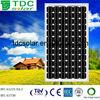 stock of High efficiency Monocrystalline solar module/panel 280w(TDC-M280-72)
