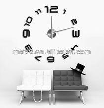 wholesale watches cheap DIY Wall Clock Mirror Stickers Hour Modern Design Art Watches