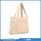 Air Mesh Plain Canvas Tote Bag