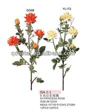 artificial flower rose bud