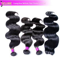 Smooth and no split end 6A grade virgin brazilian human hair