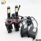 2014 new H8 H9 H11 9005 9006 9004 9007 h7 1800 lm car led headlight
