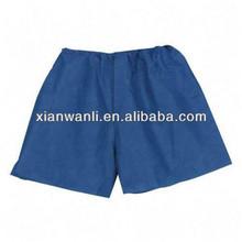 Disposable PP+PE/SMS/PP Nonwoven patient pants or Sauna cloth/nonwoven boxer