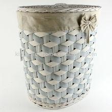 wicker laundry basket