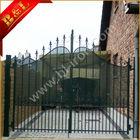 Cheap Decorative Antique wrought iron driveway gate
