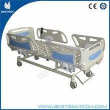 Design latest 3 functions folding icu hospital bed