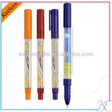 full logo print banner plastic pens for promotions