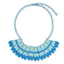 New Necklace 2014 Colorful Necklace cuban link chain hip hop necklace