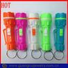 Welcome custom ODM/OEM children plastic torch keychain light