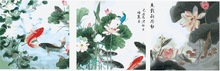 MT3022 Game fish 2014 gift yiwu paint 50*50cm*3