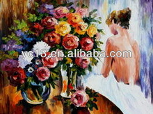 beautiful girl body sexy girl canvas oil painting art nude painting