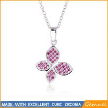 real four leaf clover necklace larimar opening pendants