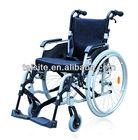 2014 best selling european style 130kg ce&iso light weight manual foldable titanium aluminium wheelchair