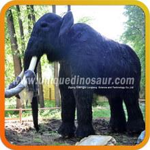 Lifelike fiberglass statue elephant for sale