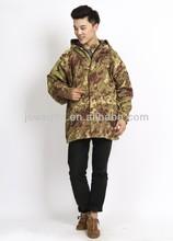 Camouflage fashion waterproof Jacket