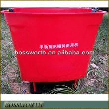 /portátil de mano de estiércol de agricultura/esparcidor de fertilizantes