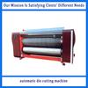 automatic high speed courrugated paperboard carton die cutting machine