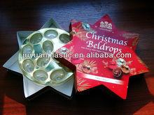 Gold Plastic Chocolate Tray