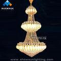 Dernier produit chinois d'éclairage lustre à dubaï