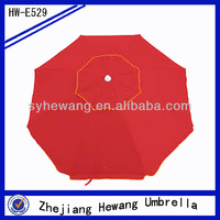 Windproof with uv /air-vent/tilting advertising polyester beach umbrella