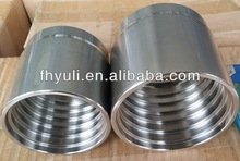 stainless steel weld nipple hydraulic fittings