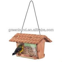 Classical red cedar bird feeder with Factory Price